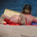 Nude girls on the beach - 402