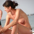 Topless girls on the beach - 276