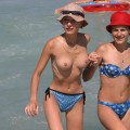 Topless girls on the beach - 274