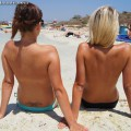 Beach - christiane and charlotte