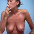 Topless girls on the beach - 121 - part 1