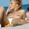 Topless girls on the beach - 129 - part 2