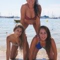 Beach - alison and friends 1