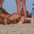 Nude girls on the beach - 168