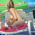 Topless girls on the beach - 131
