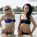 Beach - chantelle and sahara