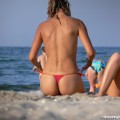 Topless girls on the beach - 250