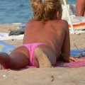 Nude girls on the beach - 180