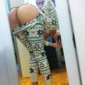 Pussy selfshot from behind